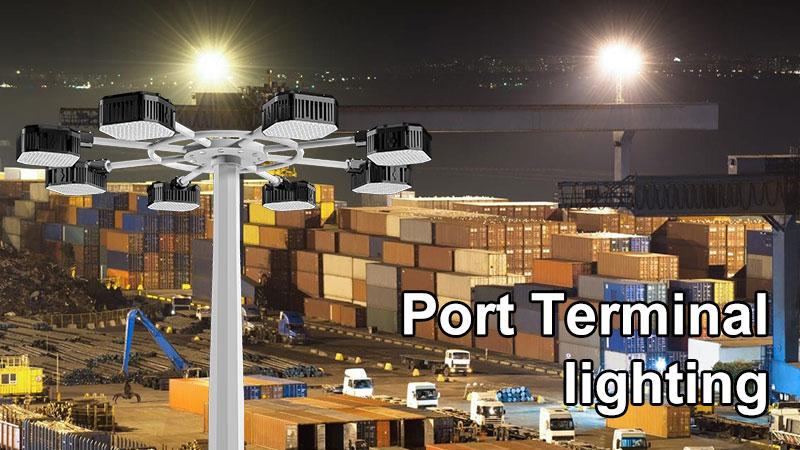 Port Terminal lighting