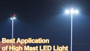 Best Application of High Mast LED Light