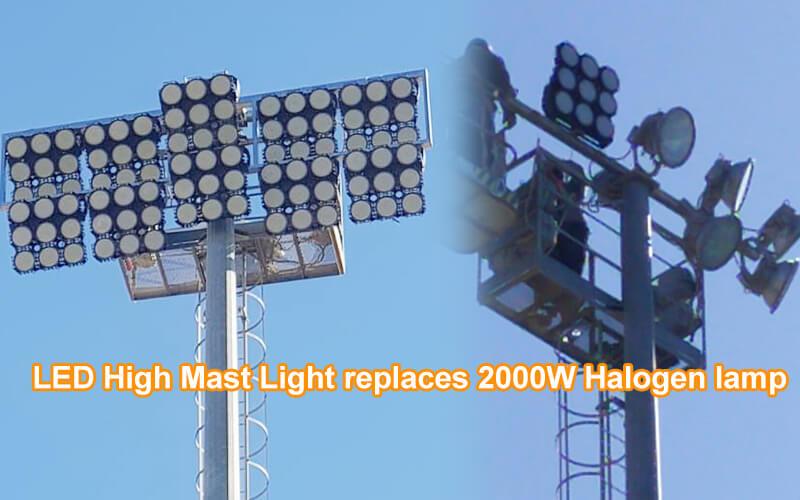 Best High Mast Lighting Systems | 160lm/w LED Sports Lighting | HISHIEN LIGHTIGN