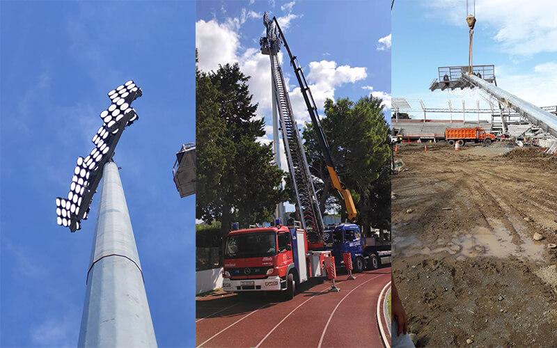 High mast lighting project case