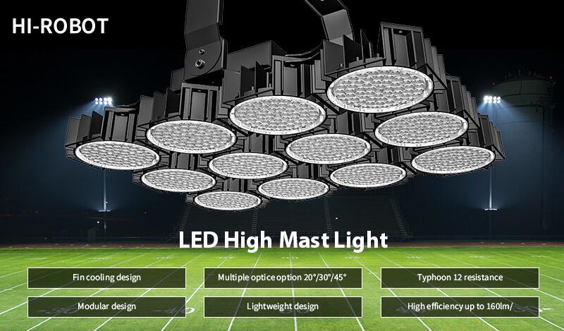 Why choose Hishine's LED high mast lights
