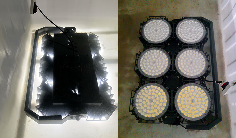LED Volleyball Lights anti-corrosion and waterproof