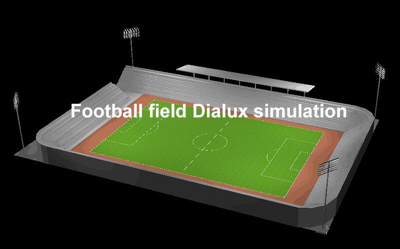 High Mast Lighting Free Dialux simulation
