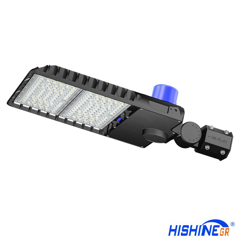 Hi-Sun HS-PL200W-C series area shoebox led light