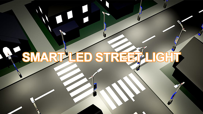 Smart street lights adapt to future development