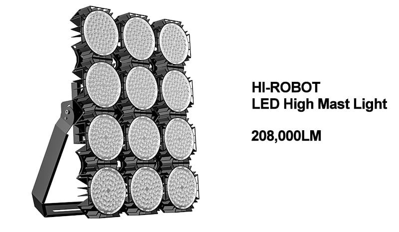 Hi-Robot Led high mast light