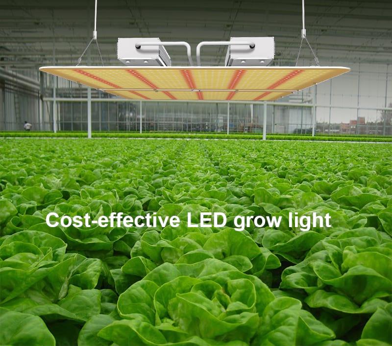 PG02 200W Full Spectrum LED Plant Grow Light Fixture