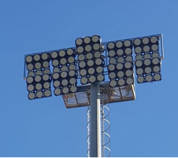 960W LED STADIUM LIGHT IN ISRAEL