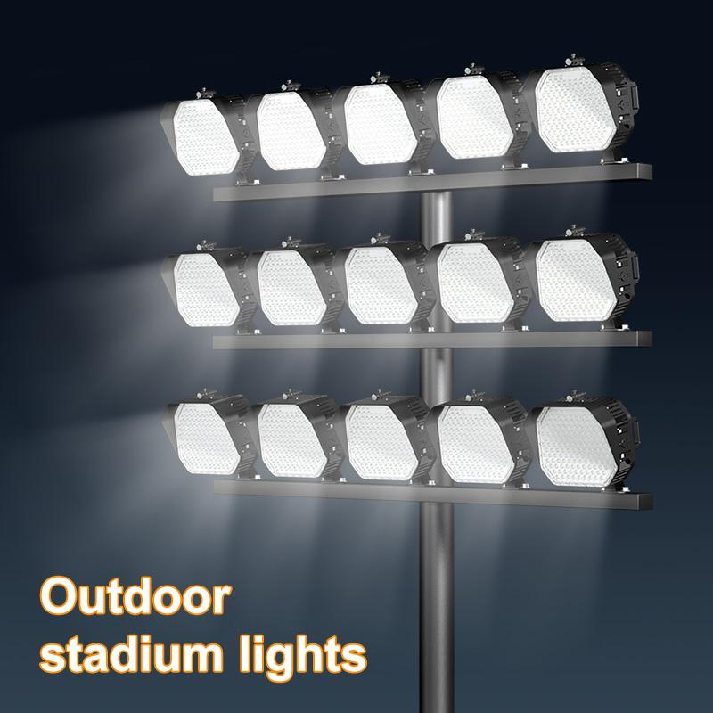 Outdoor stadium lights