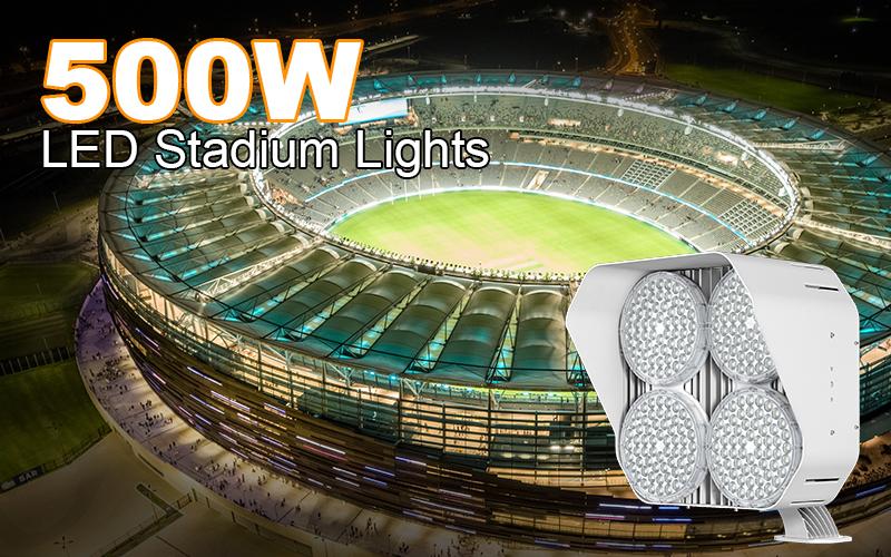 500W LED Stadium Light-Cost-effective Stadium Lighting US$189-UL DLC
