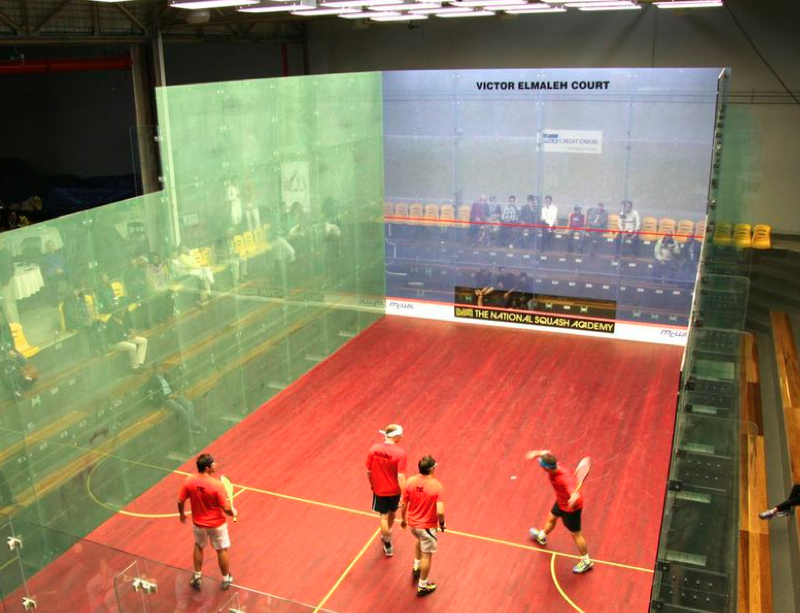 Squash court lighting-LED sports court lighting
