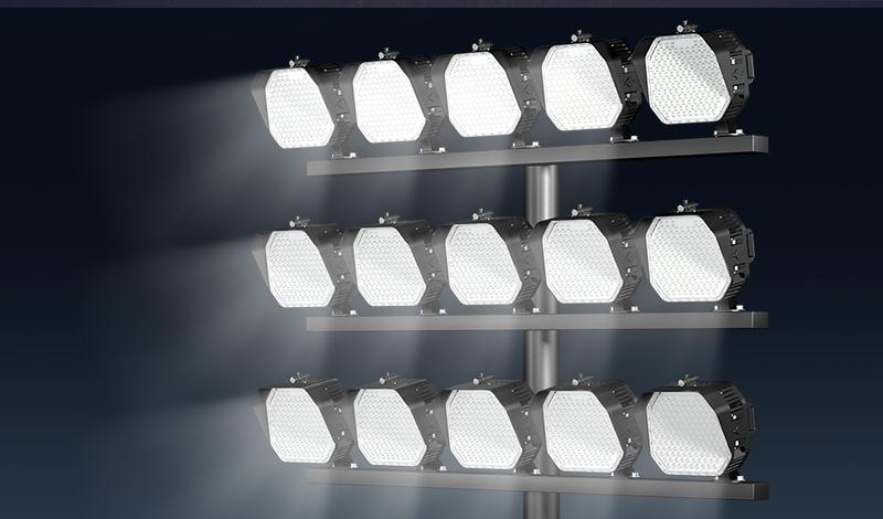 Stadium lighting cannot be ignored