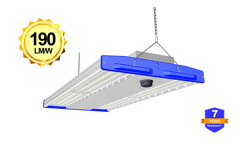 500W LED Linear Warehouse Light High efficiency up to 190lm/w
