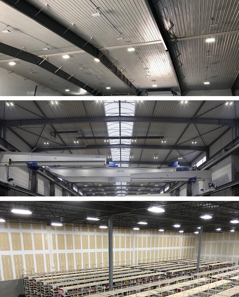 500W LED Linear Warehouse Light  Applications