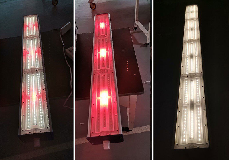 Ukrainian bullpen lighting solution