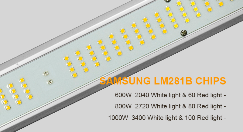 Full Spectrum LED Grow Light Samsung LM281B Chips
