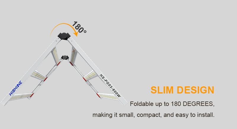 Full Spectrum LED Grow Light SLIM DESIGN
