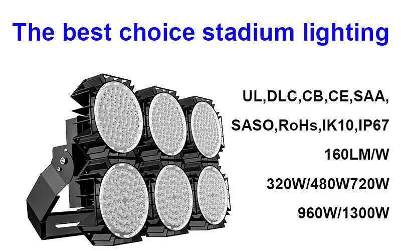 Reliable cricket court light selection