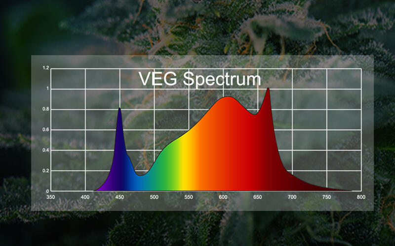 The main difference betweenthe chips ofregular led lightand led plant growth lights: