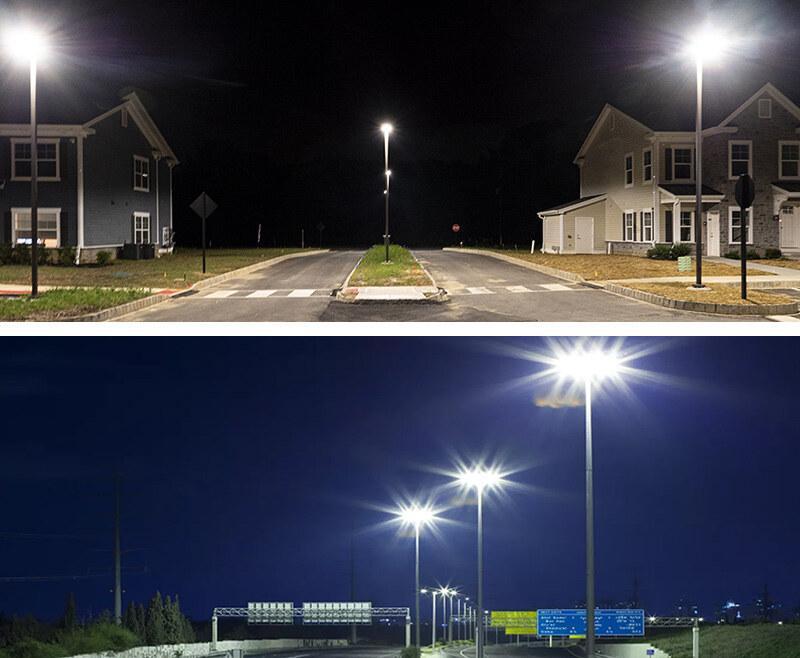 Hi-Slim LED Street Light 45w Applications