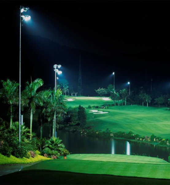 LED Stadium Light 600W used for golf course in Detroit,USA