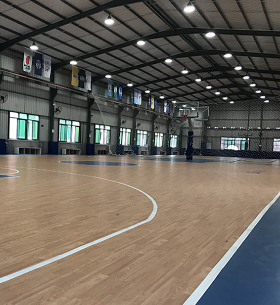LED UFO High Bay Light 100w used for basketball court in Singapore