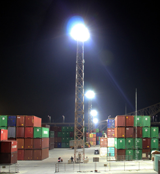 LED Stadium Light 600W used for port in ShenZhen,China