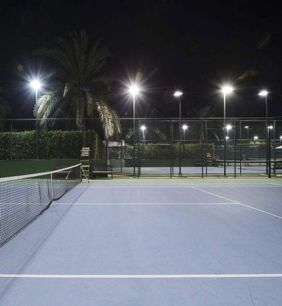 LED Stadium Light 600W used for tennis court in Florida,USA