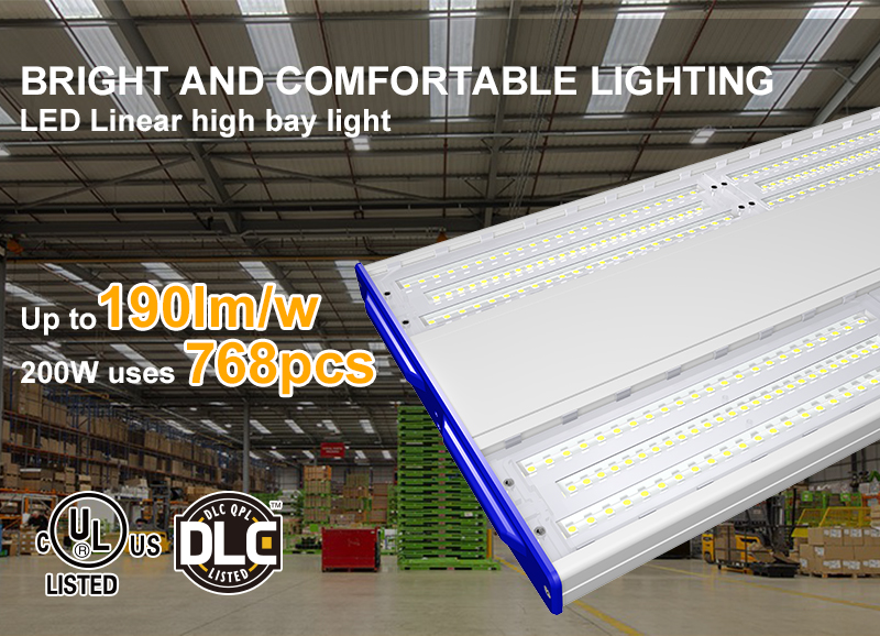 Bright and Comfortable Lighting without Dark Spots & Glare