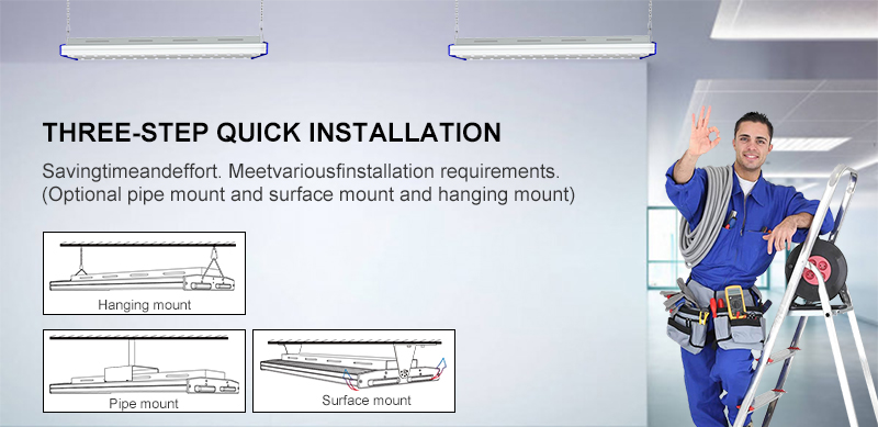 three step quick installation