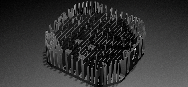 Outdoor led Basketball Court Lighting - Exceptional Heat Sink System